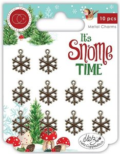 Charms Snowflakes It's Snome Time