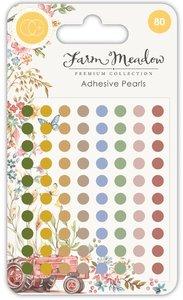 Set de perlitas adhesivas Farm Meadow