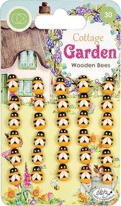 Mariquitas de madera Cottage Garden