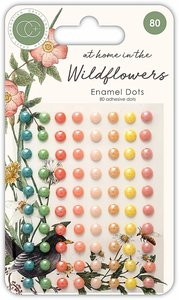 Set de enamels dots brillantes At Home in the Wildflowers