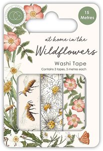 Set de Washi Tapes At Home in the Wildflowers