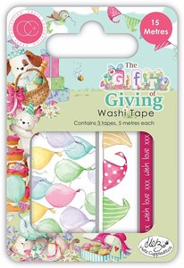 Set de washi tapes The Gift of Giving