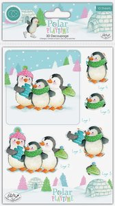 Set de hojas de Die Cuts Polar Playtime