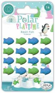 Peces de resina adhesivos Polar Playtime