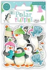 Set de maderitas decoradas Polar Playtime