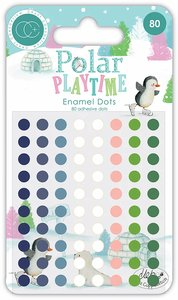 Set de enamel dots brillantes Polar Playtime