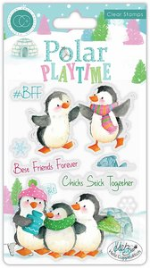 Sellos Polar Playtime BFF Best Friends Forever