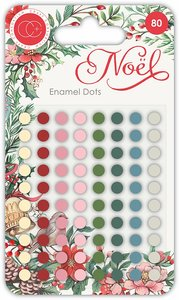 Set de enamel dots brillantes Noel