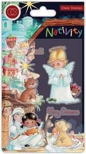 Sellos Craft Consortium Nativity Angels