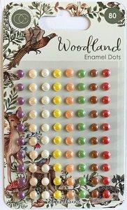 Set de perlitas adhesivas Craft Consortium Woodland