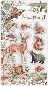 Sellos Craft Consortium Woodland Animals