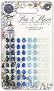 Set de Enamel Dots Craft Consortium Sea & Shore