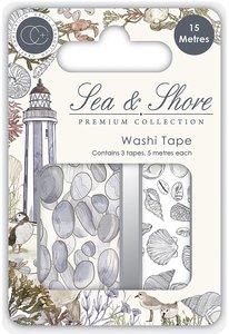 Set de washi tapes Craft Consortium Sea & Shore