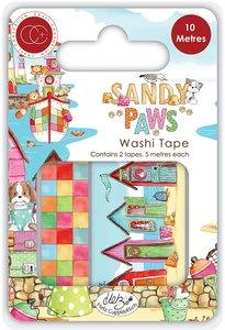 Set de washi tapes Craft Consortium Sandy Paws