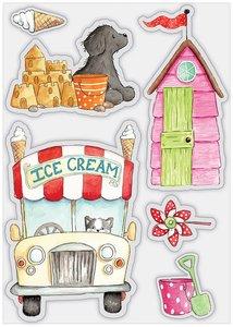 Sellos Craft Consortium Sandy Paws Ice Cream