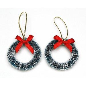 Mini coronas navideñas 5,7 cm
