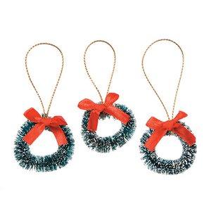 Mini coronas navideñas 3,8 cm