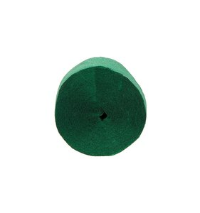 Tira de papel crepe verde
