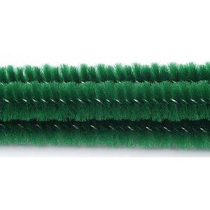 Limpiapipas verdes esmeralda 6 mm