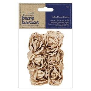 Flores de arpillera Bare Basics Blouseys 6 pcs