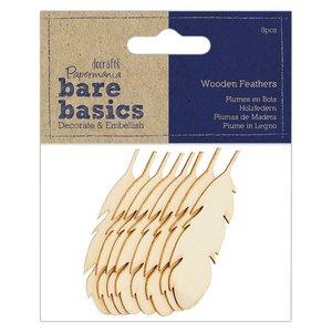 Maderitas Bare Basics Feathers 8 pcs