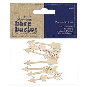 Maderitas Bare Basics Arrows 8 pcs