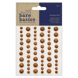 Dots de madera Bare Basics Dark