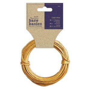 Cordón metálico cubierto de fibras naturales 10 metros