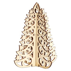 Maderitas 3D Create Christmas Filigree Tree