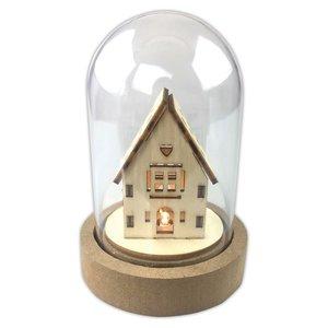 Campana con luz Create Christmas House