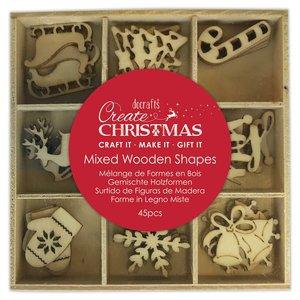 Set de maderitas Create Christmas Icons