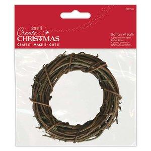 Formas de rattan Create Christmas Wreath 10 cm