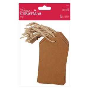 Etiquetas Create Christmas Kraft 20 pcs