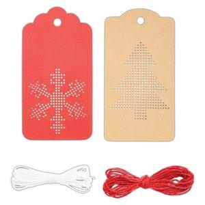 Etiquetas Create Christmas Cross Stitch 10 pcs