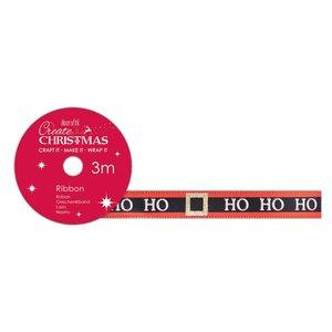 Cinta de tela Create Christmas Ho Ho Ho