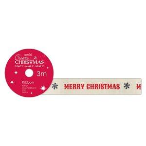 Cinta de tela Create Christmas Merry Christmas