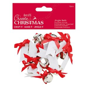 Jingle Bells with Message Create Christmas 12 pcs