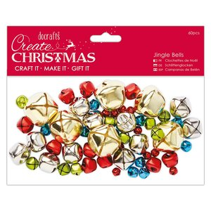 Jingle Bells Create Christmas Assortment 60 pcs