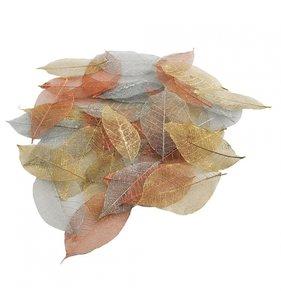 Surtido de hojas caladas Metallics