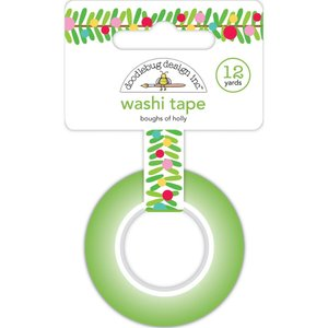 Washi tape Doodlebug Boughs of holly