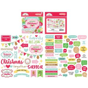 Die cuts frases Christmas Magic