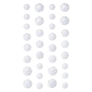 Enamel iridiscentes DP Craft Christmas Snowflakes