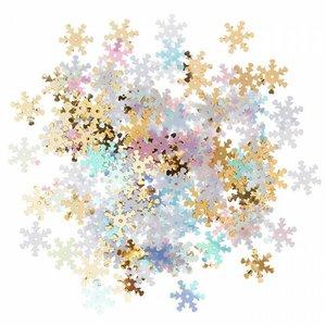 Lentejuelas DP Craft Christmas Snowflakes