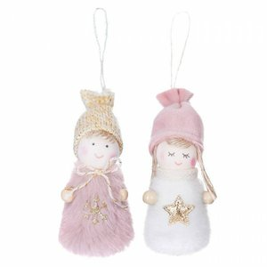 DP Craft Christmas Colgantes Angels Pink 2 pcs