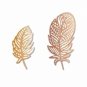 Troqueles DP Craft Christmas Boho Feathers