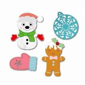 Troqueles DP Craft Christmas Elements