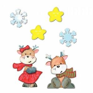 Troqueles DP Craft Christmas Funny Reindeers