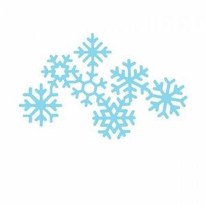 Troqueles DP Craft Christmas Snowflake Garland