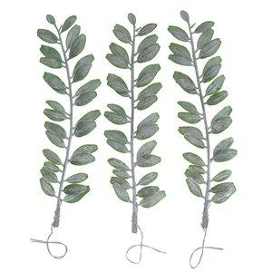 Ramos con mini hojas verdes DP Craft Christmas