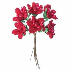 Ramo de Poinsettias DP Craft Christmas
